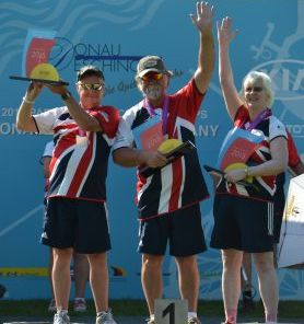 GB VI Archers 1-2-3 at World Championships 2015