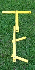 Image of Foot-locators set-up right handed, longer draw length.